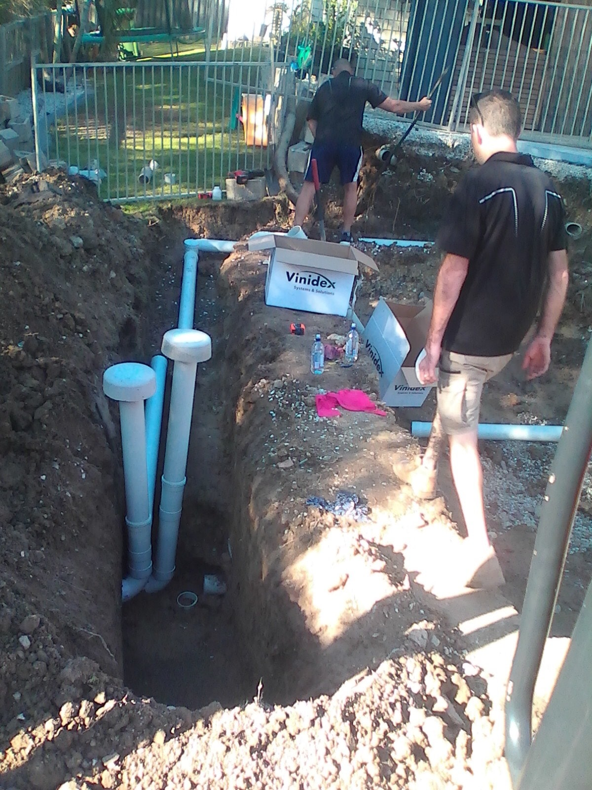 Sewer Pit Digging and Trenching-min